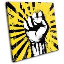 Fist Power Illustration - 13-1853(00B)-SG11-LO